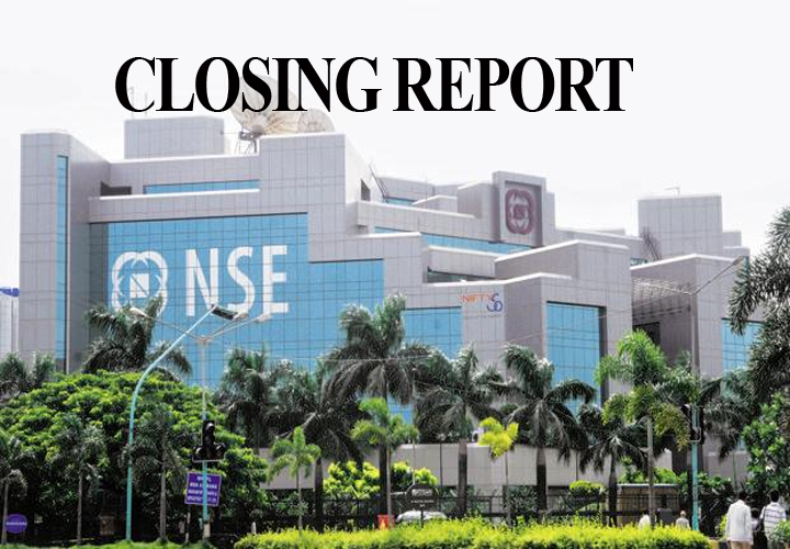 Sensex was down 361.92 points at 38,305.41