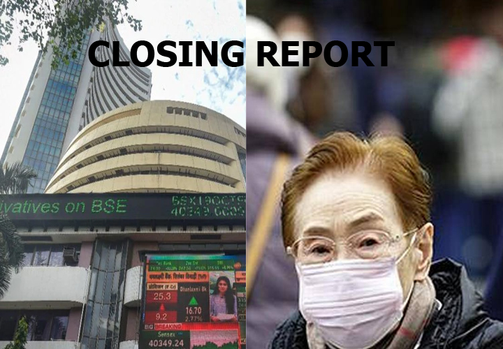 Coronavirus fears grip market; Sensex sees 2nd biggest fall of 458 points in Jan