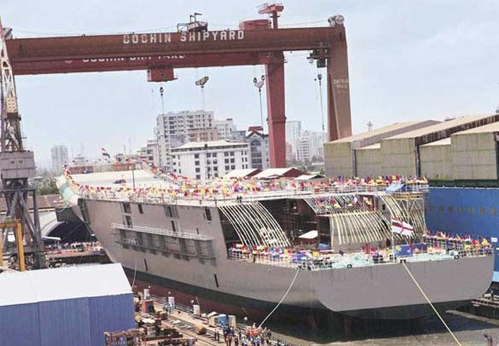 Cochin Shipyard Q2 net profit rises 40% to Rs 206.3 crore, income up 22%