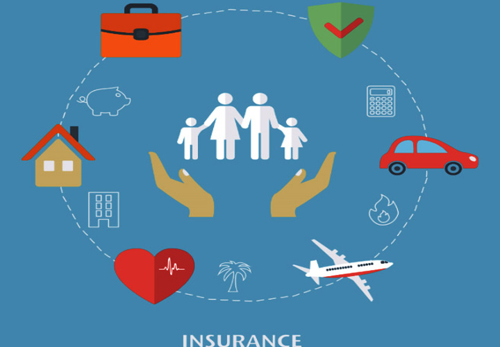 diffrent types of insurance