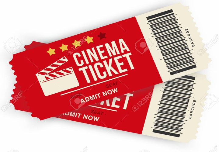 Movie ticket tax; The new rates will be effective from April 1