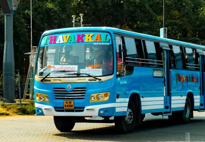 4000 private buses were operated in Kerala for the last one year