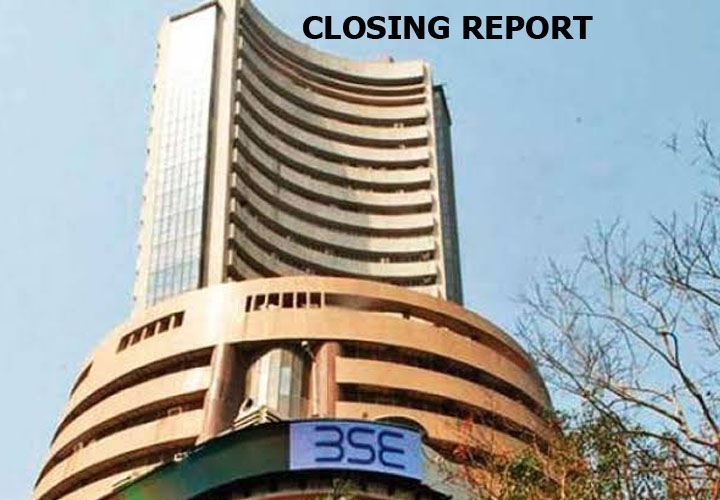 Sensex ended 21.47 points higher or 0.05 percent