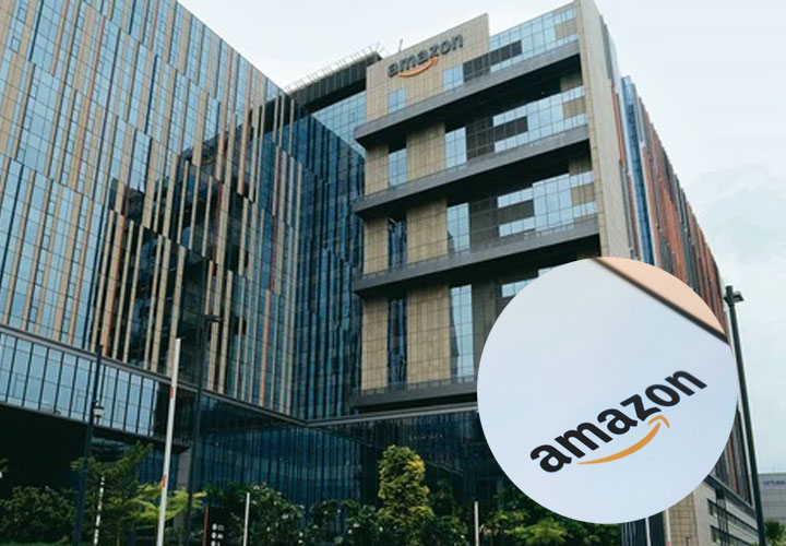 Amazon's new campus building in Hyderabad