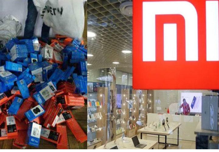 Fake Xiaomi products worth ₹13 lakh seized in Delhi