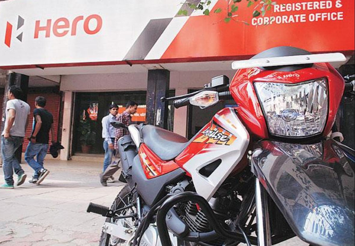 Hero MotoCorp reports 1.45% increase in total sales in February
