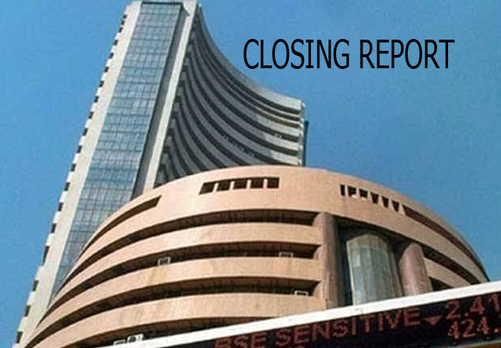 Sensex ended down 334.54 points
