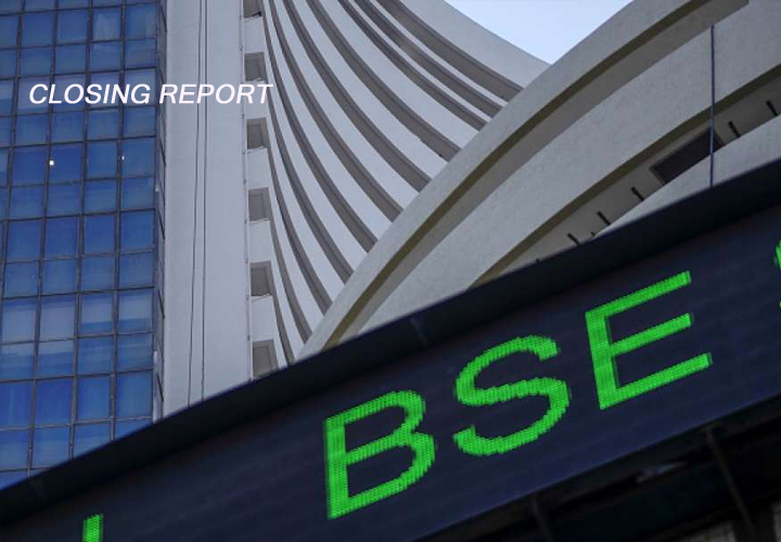 Sensex gains 227 pts, ends above 44K