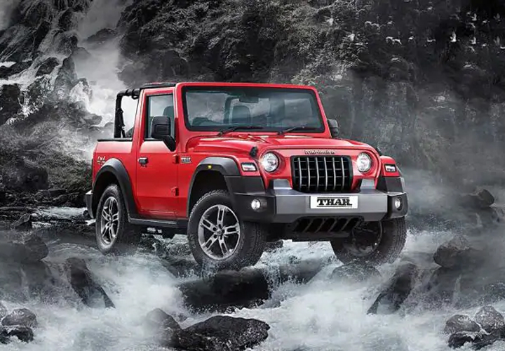 First-ever 2020 Mahindra Thar auction for charity - financial views