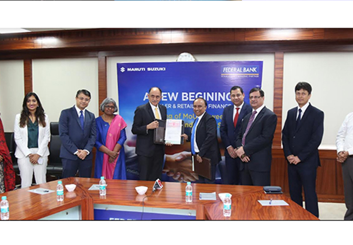 maruti and federal bank tie up for vehicle loan