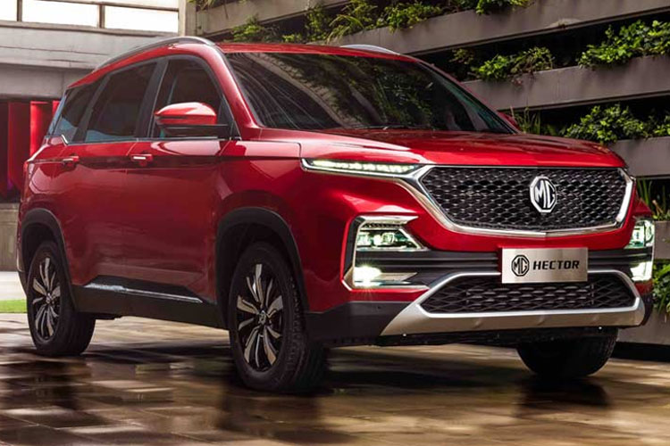 21,000 booking in two weeks: MG Hector makes record