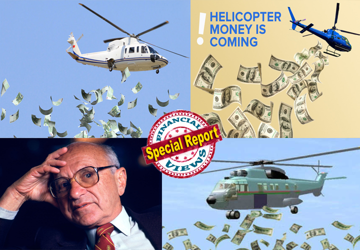 what is helicopter money