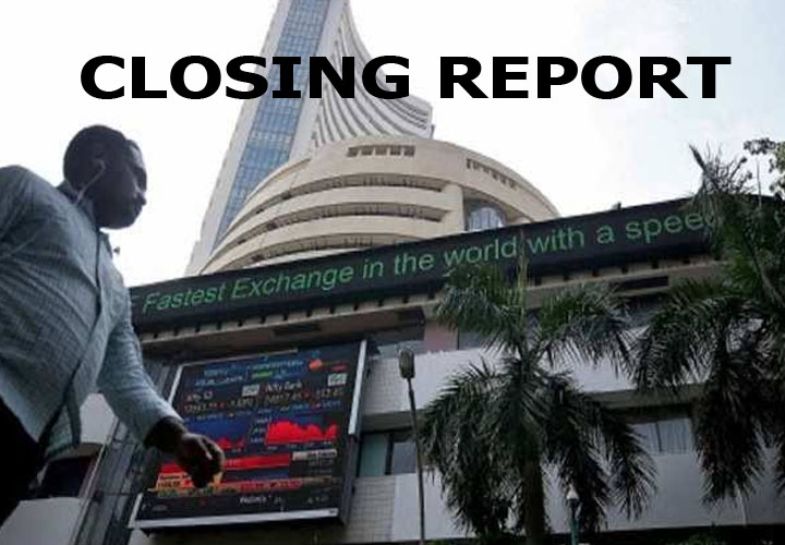 Sensex was down 336.36 points or 0.82% at 40793.81