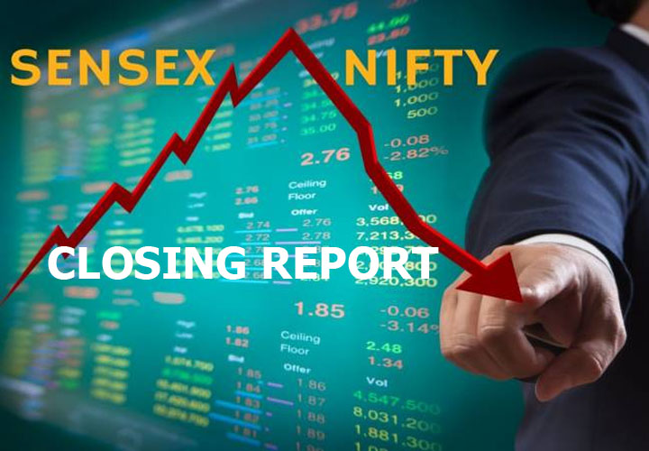 Closing Bell: Nifty ends August series below 10,950, Sensex falls 382 pts; banks underperform