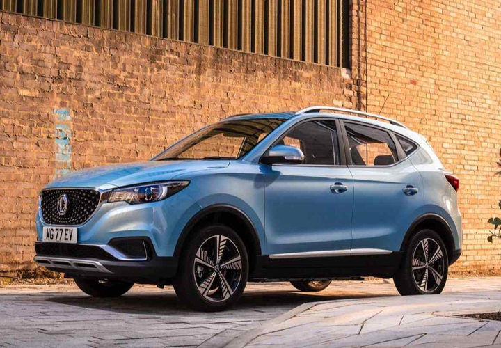 MG ZS Electric SUV To Get A New Variant With 500km Range