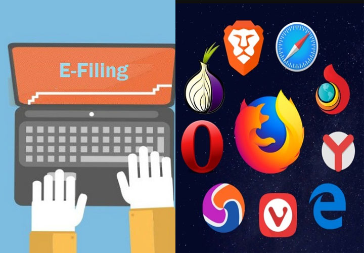 Which Browser are Safe for Income Tax E-Returns?