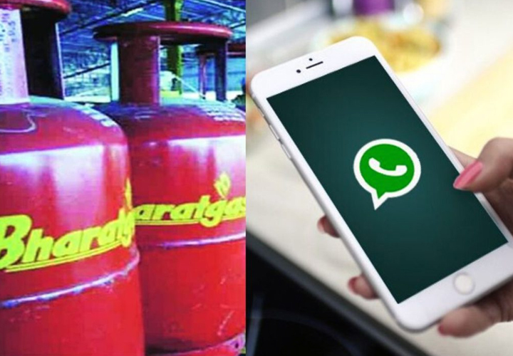 LPG customers can book Bharat Petroleum (BPCL) cooking gas cylinder on WhatsApp