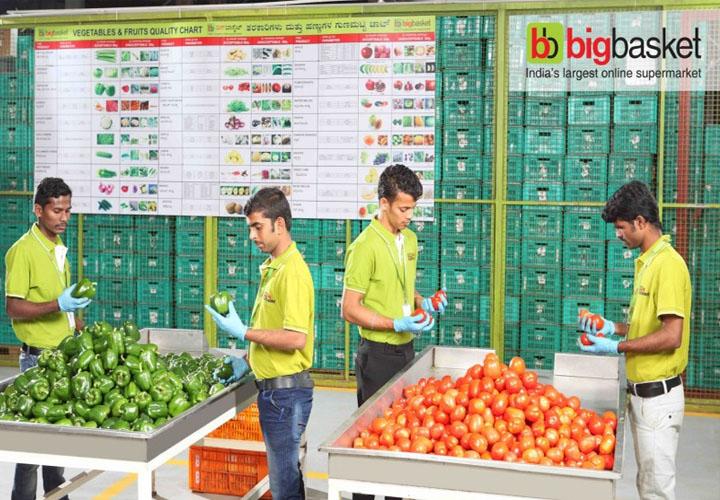 More preferring online grocery shops: BigBasket