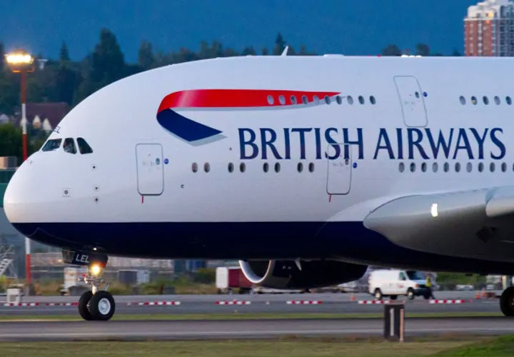 British Airways says almost all UK flights cancelled over pilot strike