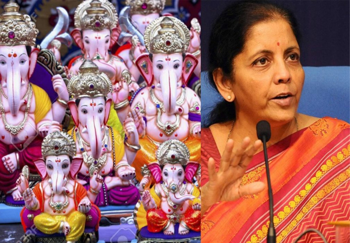 'Why import even Ganesha idols from China': Nirmala Sitharaman in push for self-reliance