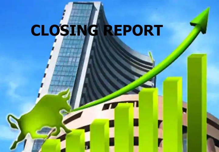 Sensex gains 281 pts
