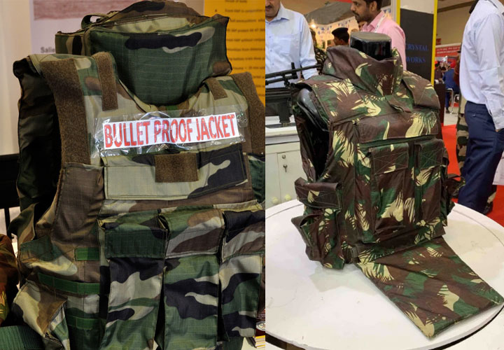 India exporting bulletproof jackets of international standard to over 100 countries