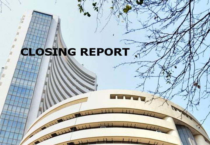 Sensex up 263 pts ahead of FM presser