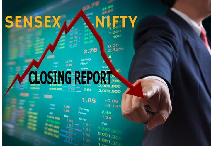 Sensex falls 587 pts; Yes Bank, DLF plunge