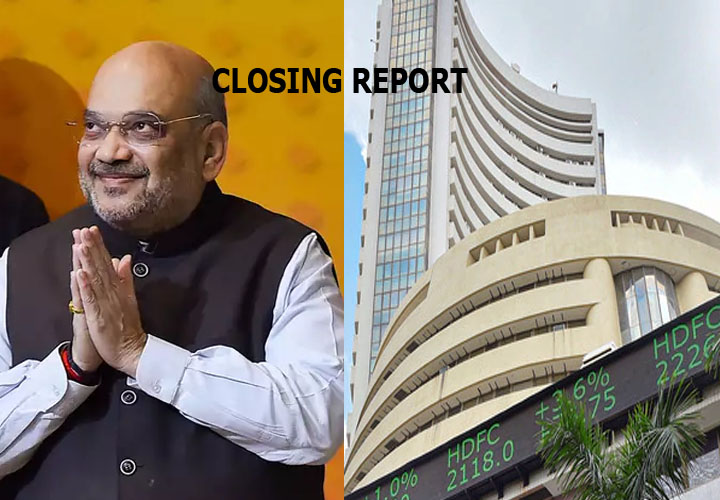 Sensex ended 206.40 points higher or 0.5 percent at 41558.57