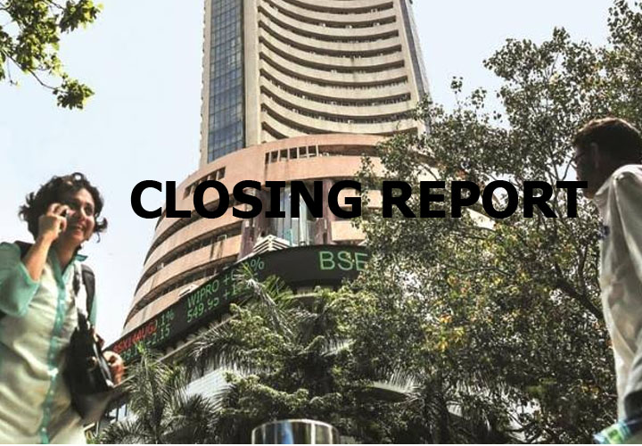 Closing Bell: Sensex ends higher, Nifty above 12,000 led by gains in banks, auto stocks; Tata Motors surges 7%