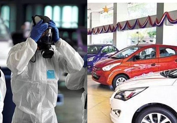 Virus outbreak drives down automobile sales in March