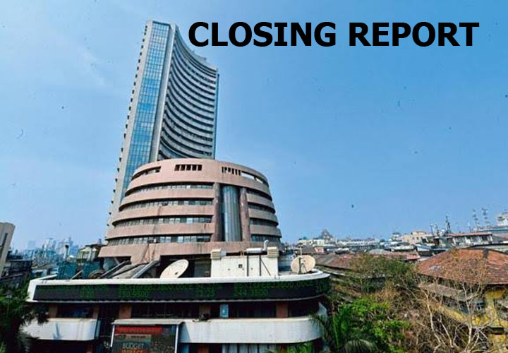 Sensex closed 330.13 points or 0.81% in the red at 40323.61