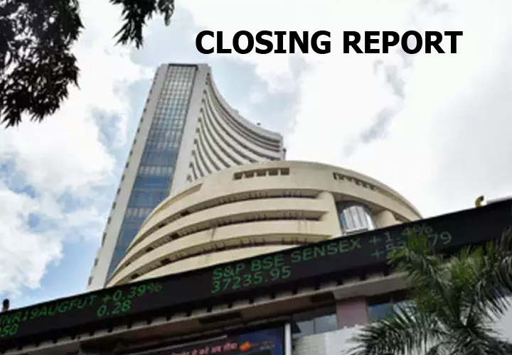 Sensex was down 152.88 points at 41,170.12