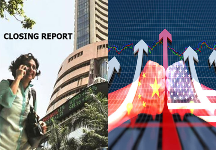 Sensex, Nifty end at record closing highs; Infosys gains 4%, Yes Bank sheds 6%