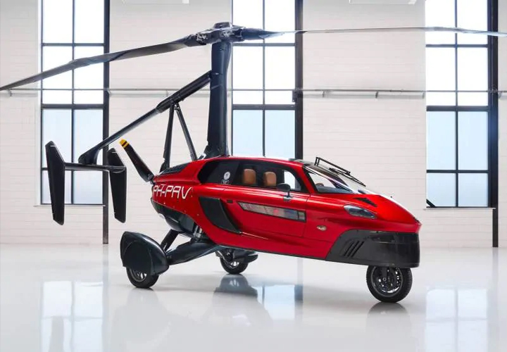 Flying car PAL-V to be built in Gujarat, MoU inked with Dutch firm