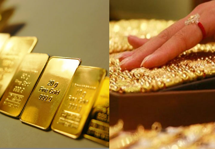 hike in gold price: rs.25960 for a sovereign