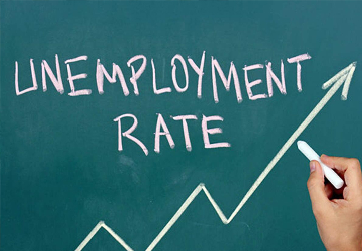 The unemployment rate is also up in January