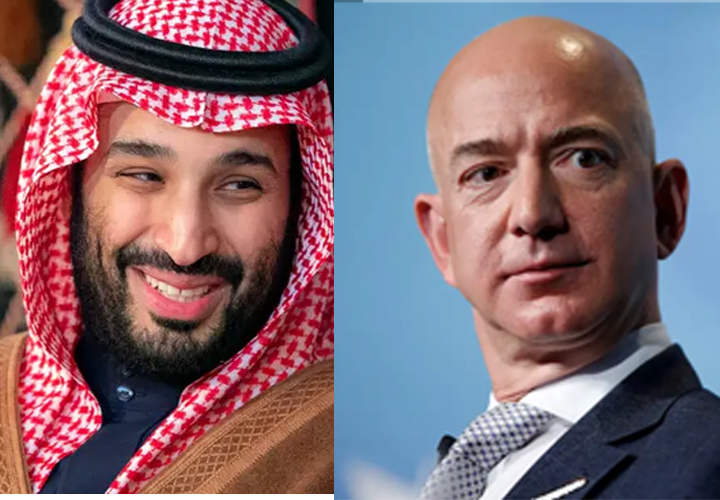 Amazon boss Jeff Bezos's phone 'hacked by Saudi crown prince'