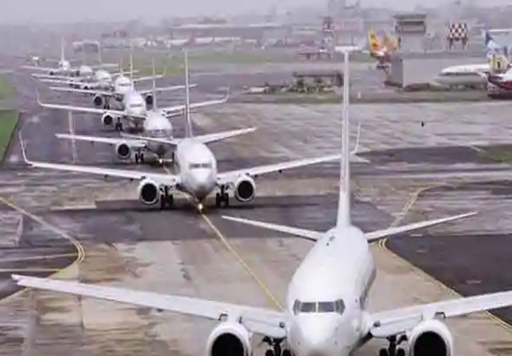 Domestic airlines allowed to operate 80% of pre-Covid flights