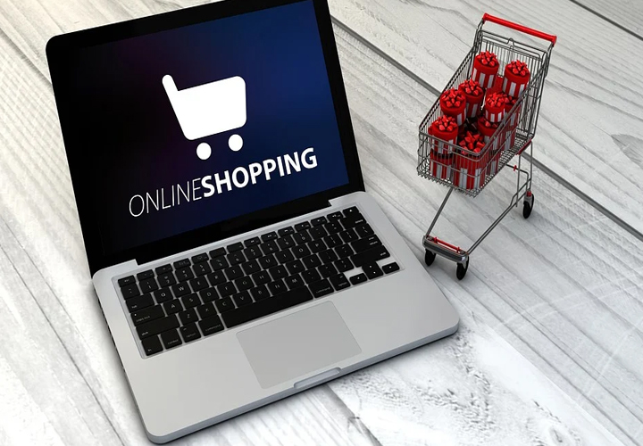 hike in online shopping