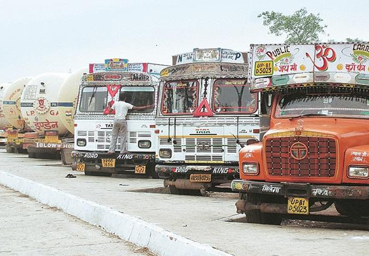 Domestic Commercial Vehicle Industry Volumes To Contract 25-28% In FY21: ICRA