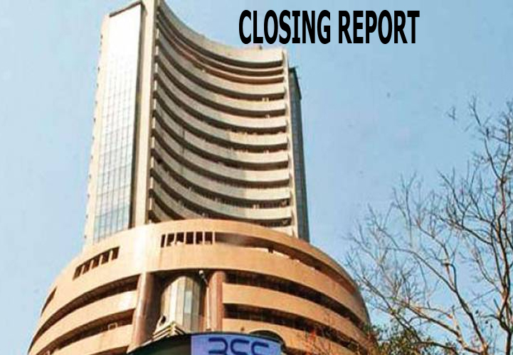 Sensex was down 392.24 points or 0.97% at 39888.96