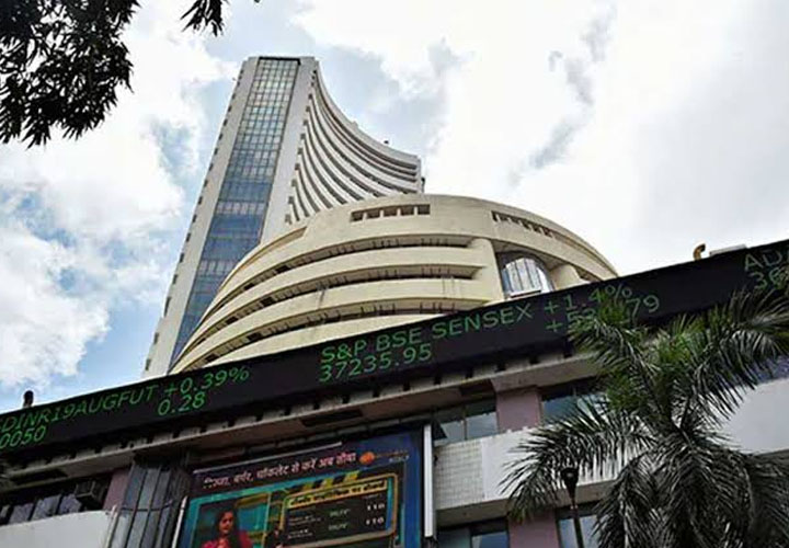 Sensex was down 72.50 points at 40284.19