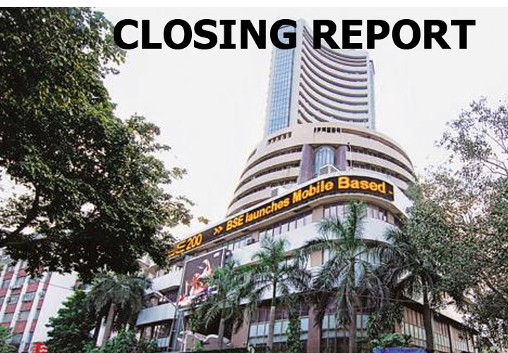 Sensex was up 1,421.90 points or 3.75% at 39352.67