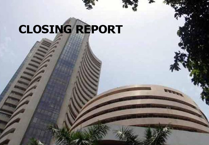 Sensex was up 87.39 points at 38,214.47