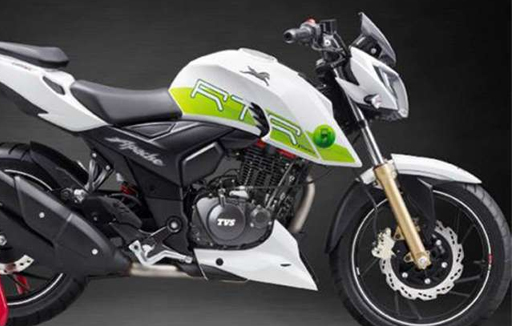 RTR 200 Fi E100 - ethanol based motorcycle by tvs