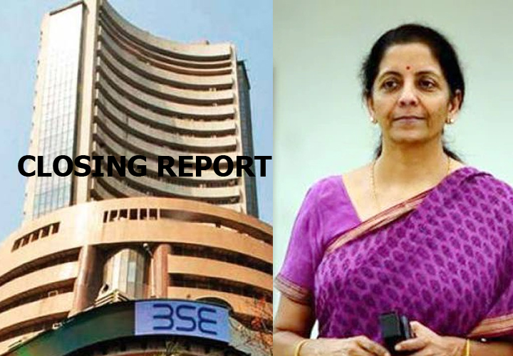 Closing Bell: Nifty ends above 7,800, Sensex up 692 pts as FM announces relief measures for corporates