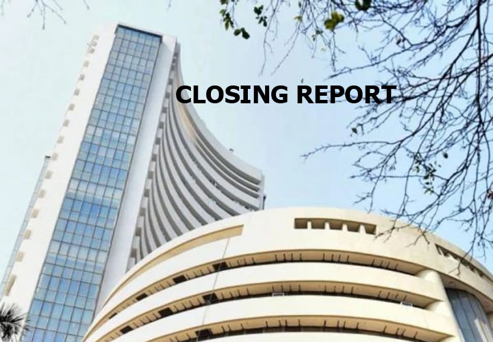 Sensex ended 94.99 points higher or 0.24 percent at 39058.83