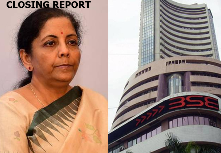 Sensex was up 428.62 points or 1.05% at 41,323
