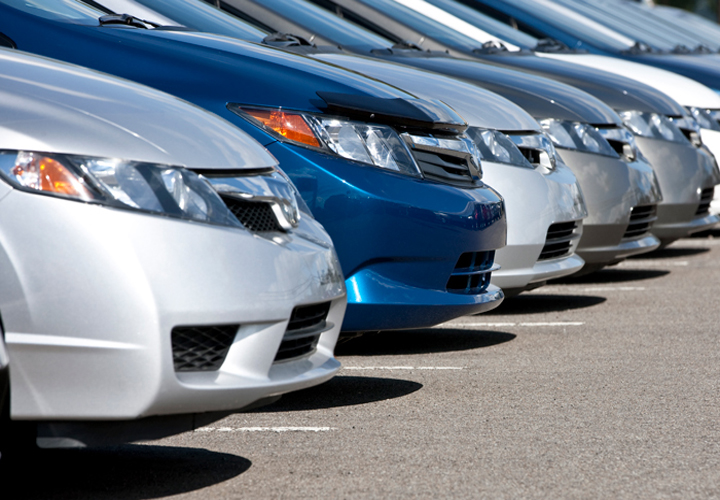 automobile sector sales down
